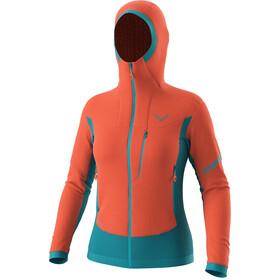 Dynafit Free Alpha Direct Jacket Women, pomarańczowy/turkusowy